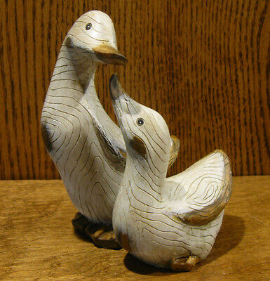 """Wood Look Ducks #D6006W BABY DUCKS, 5"""" from Transpac NEW from Retail Store"""