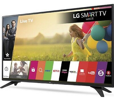 "LG 43LH604V 43"" Smart Full HD 1080p LED TV Wi-Fi & Freeview HD & Freesat HD"
