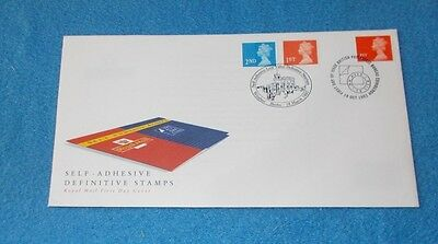 Royal Mail Double Dated Self Adhesive Definitive First Day Cover