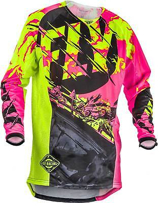 2018 Fly Racing Youth Kinetic Outlaw Jersey - Motocross Dirtbike Offroad