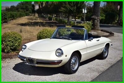 "1969 Alfa Romeo Spider  ""SURVIVOR"" 1969 ALFA ROMEO DUETTO BOAT TAIL SPIDER ONE OWNER GARAGED"