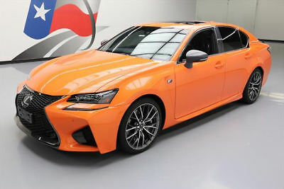 2016 Lexus GS Base Sedan 4-Door 2016 LEXUS GS F 467HP V8 SUNROOF VENT SEATS NAV HUD 3K #000548 Texas Direct Auto