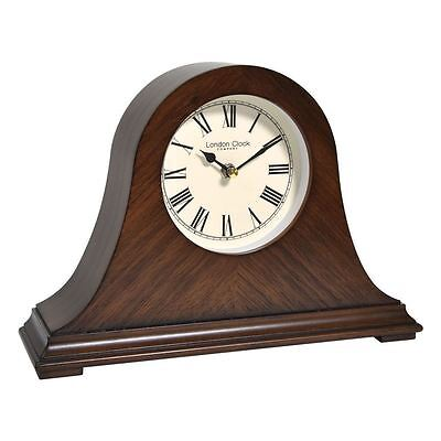 London Clock Co 21 Cm Napoleon HOLZ KAMINSIMS Uhr