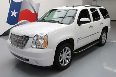 2013 GMC Yukon Denali Sport Utility 4-Door 2013 GMC YUKON DENALI 7-PASS SUNROOF NAV DVD 20'S 35K #207275 Texas Direct Auto