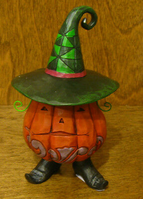 Jim Shore Heartwood Creek Pint Size #4027797 JACK-O-LANTERN Enesco NIB HALLOWEEN
