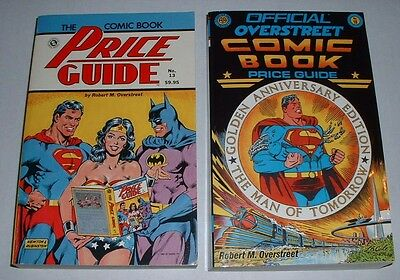 Overstreet Price Guide  # 13 + 18 + 29--close to VF..soft cover-used