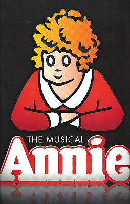 "Katie Finneran ""ANNIE"" Anthony Warlow / Tony Awards Voters 2013 Souvenir Program"