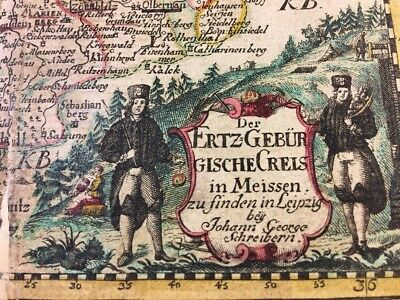 ANTIQUE MAP OF GERMANY 1600s