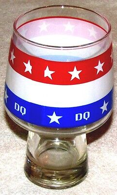 Dairy Queen Advertising Glass--Dq Glass--5 1/2 Inches Tall
