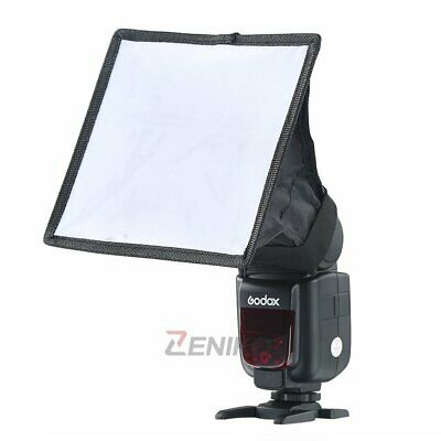 15*17cm Universal Camera Flash Diffuser Mini Softbox for Nikon Canon Sony Pentax