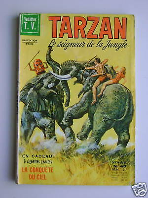 TARZAN n°43 - Sagédition 1971