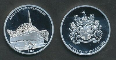 Australia: Arts Centre 40mm Medal 175 Years of Melbourne, Issue Price $49.95