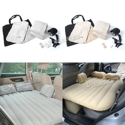 Car Travel Inflatable Mattress Self-Drive Air Bed Back Seat Rest Bed Waterproof