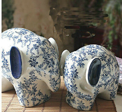 New Classical Style High-Temperature Ceramics Elephant Pattern Home Decoration