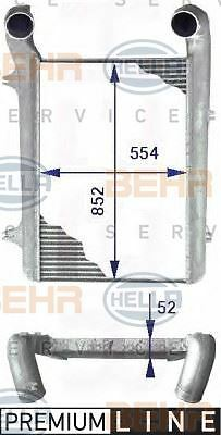 8ML 376 723-771 HELLA Intercooler charger