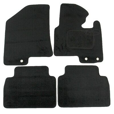 Kia Sportage MK3 2010-2016 Tailored Carpet Car Mats Black 4pcs Floor Set