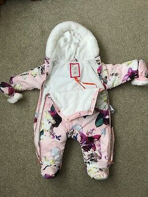 Ted Baker snowsuit - Baby Girl 0-3 Months