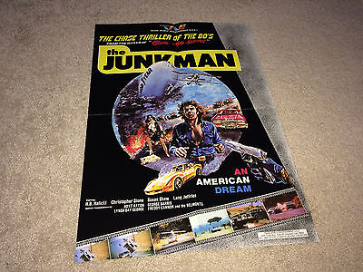 JUNKMAN Special Movie Poster 1982 H B Halicki Hot Rod Cars Gone in 60 Seconds II