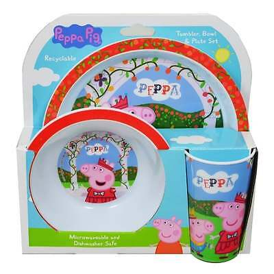 Peppa Pig 3PC Dinner Set