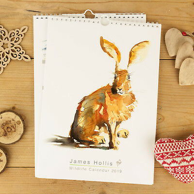 Watership down calendar 2018 rabbit paintings and art A4 size great gift