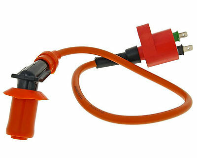 CPI Hussar 50cc  E2 post 2003 High Performance Racing 2 Pin HT Lead & Coil