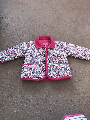 Girls Baby Joules 6-9 Months Coat
