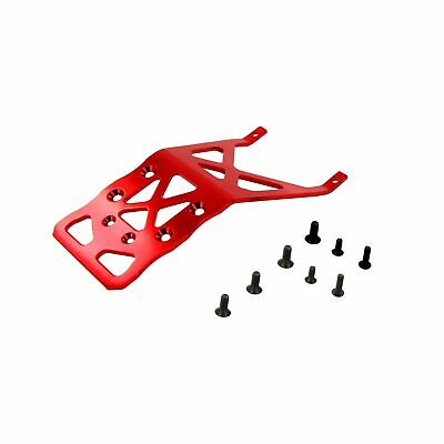 Traxxas Stampede 1:10 Alloy Rear Skid Plate, Red by Atomik - Replaces TRX 3623