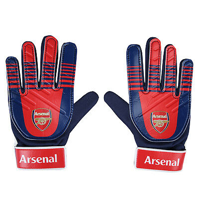 Arsenal FC Official Football Gift Kids Youths Goalkeeper Goalie Gloves