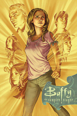 Btvs Season 11 #12 Main Cover Buffy Preorder No Extra P&p Nm Bagged And Boarded