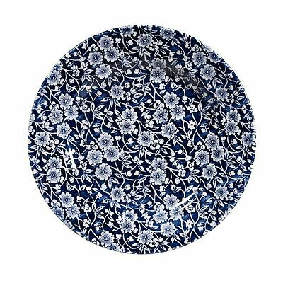 Churchill China Victorian Calico Blue Dinner Plate 26cm