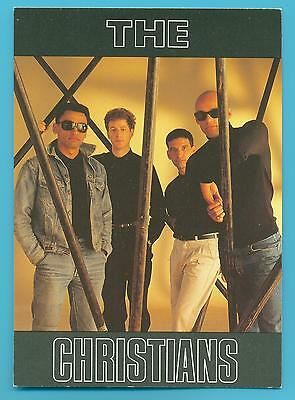 The Christians.postcard Published 1988.
