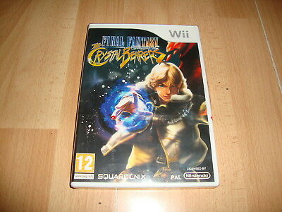 FINAL FANTASY CRYSTAL CHRONICLES THE CRYSTAL BEARERS PARA LA NINTENDO Wii NUEVO