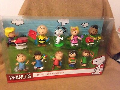 Peanuts Snoopy Charlie Brown FRIENDS COLLECTION 10 PACK 2016 NEW