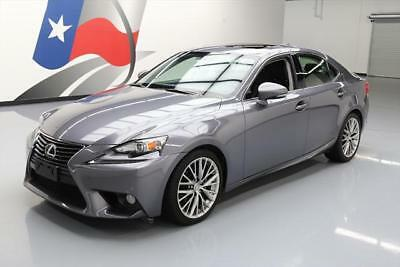 2014 Lexus IS  2014 LEXUS IS250 AUTO BLUETOOTH REAR CAM SUNROOF 32K MI #015276 Texas Direct