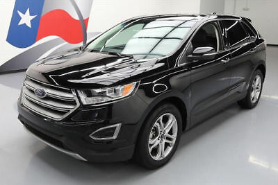 2016 Ford Edge Titanium Sport Utility 4-Door 2016 FORD EDGE TITANIUM ECOBOOST HTD LEATHER NAV 32K MI #B13452 Texas Direct