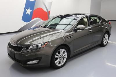 2011 Kia Optima EX Sedan 4-Door 2011 KIA OPTIMA EX CLIMATE LEATHER PANO SUNROOF 41K MI #098620 Texas Direct Auto