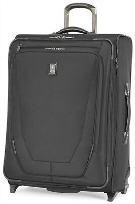 "Travelpro Luggage Crew 11 26"" Expandable Rollaboard Upright Suitcase - Black"
