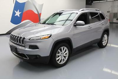 2016 Jeep Cherokee  2016 JEEP CHEROKEE LIMITED 4X4 REAR CAM HTD SEATS 23K #250449 Texas Direct Auto