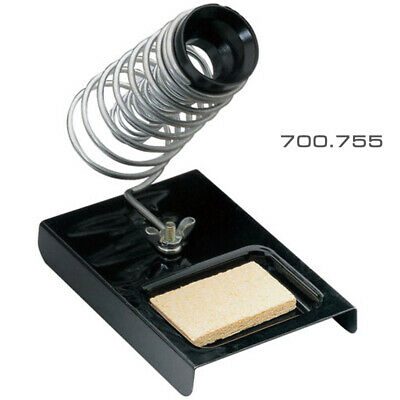 Bench Top Soldering Iron Tool Stand + Safety Holder & Sponge