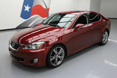 2010 Lexus IS Base Sedan 4-Door 2010 LEXUS IS250 CLIMATE SEATS SUNROOF NAV REAR CAM 60K #123918 Texas Direct