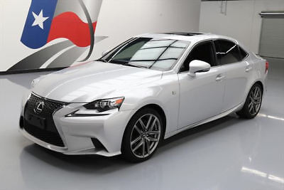 2014 Lexus IS  2014 LEXUS IS350 F-SPORT SUNROOF NAV HTD LEATHER 46K MI #012931 Texas Direct