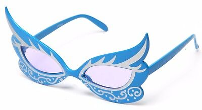 Butterfly Masquerade Costume Glasses with Black Trim