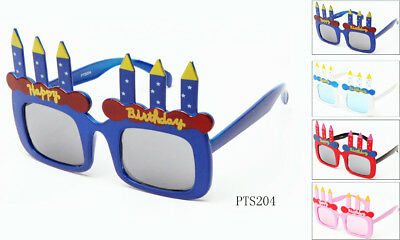 Happy Birthday Costume Glasses Perfect for Cosplay