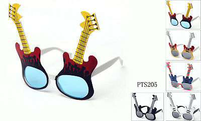 Guitar Costume Glasses Perfect for Cosplay