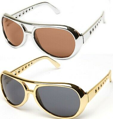 Chrome Aviator Costume Glasses Perfect for Cosplay