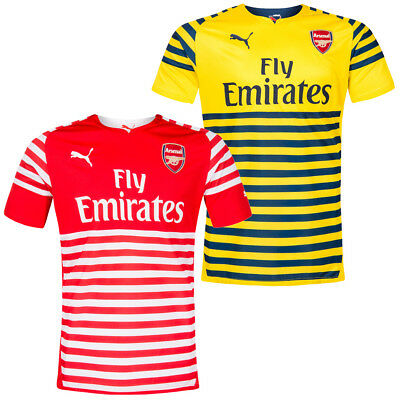 FC Arsenal London PUMA Herren Pre-Match Trainings Trikot Jersey 746934 England