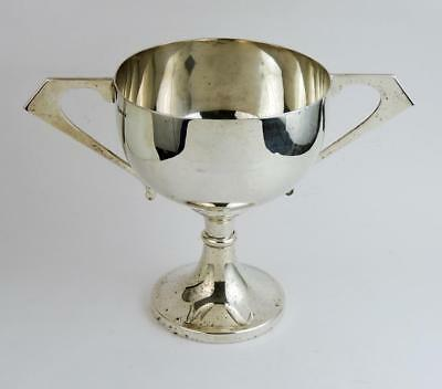 FINE EPNS SILVER PLATED TROPHY CUP c1925 Art Deco