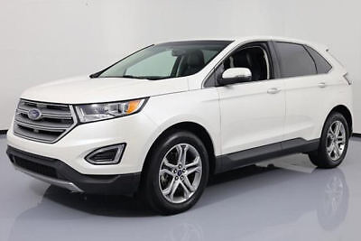 2016 Ford Edge Titanium Sport Utility 4-Door 2016 FORD EDGE TITANIUM AWD ECOBOOST NAV LEATHER 34K MI #B44122 Texas Direct