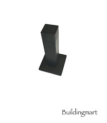 Square Shaped Door Stop(1139MB) - Black Finish