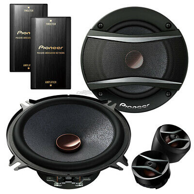 BMW 3er (E46) Touring 98-07 Pioneer car speakers 130mm component front/rear